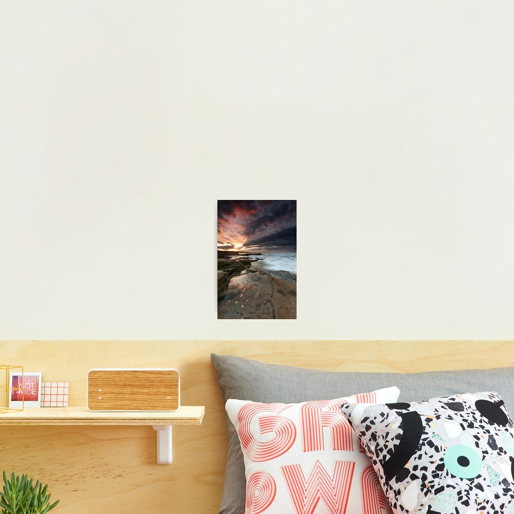 Sluice sunset Photographic Print