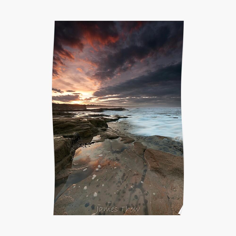 Sluice sunset Poster