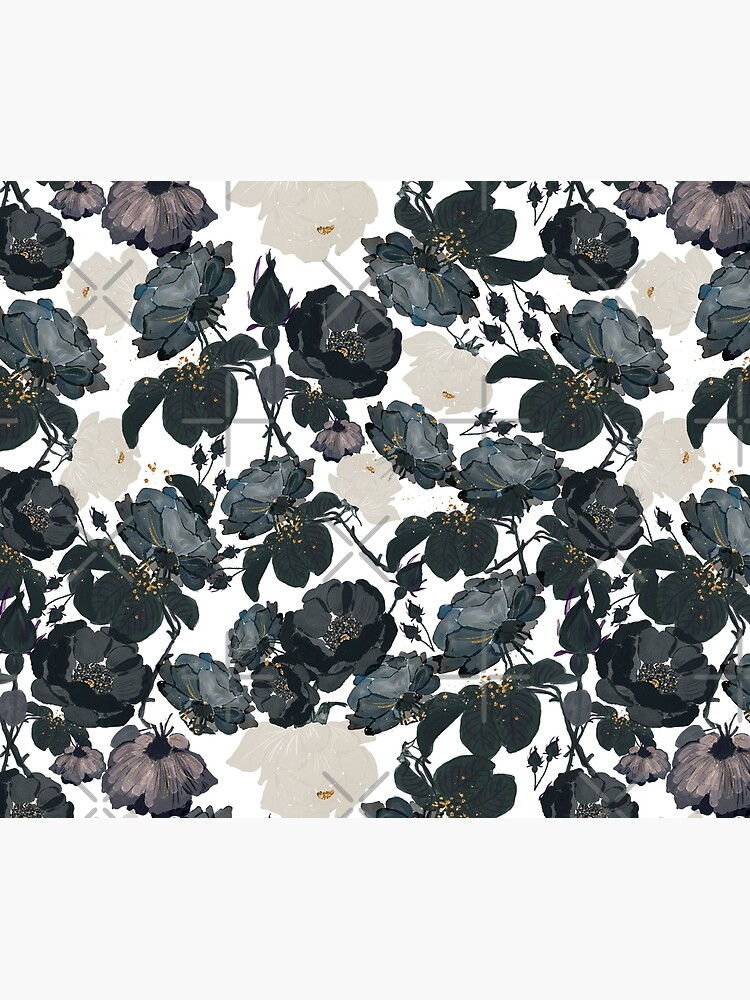 Black Roses Pattern by UtArt