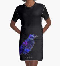 BLOOMING RAVEN by die|site T-Shirt Kleid