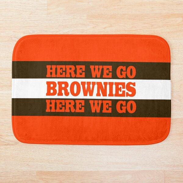 Cleveland Football Brownies Bath Mat