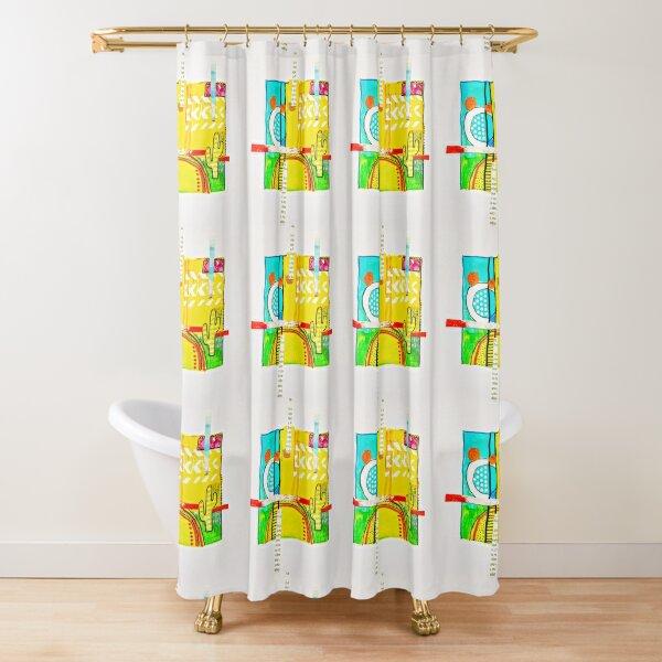Little Saguaro Shower Curtain