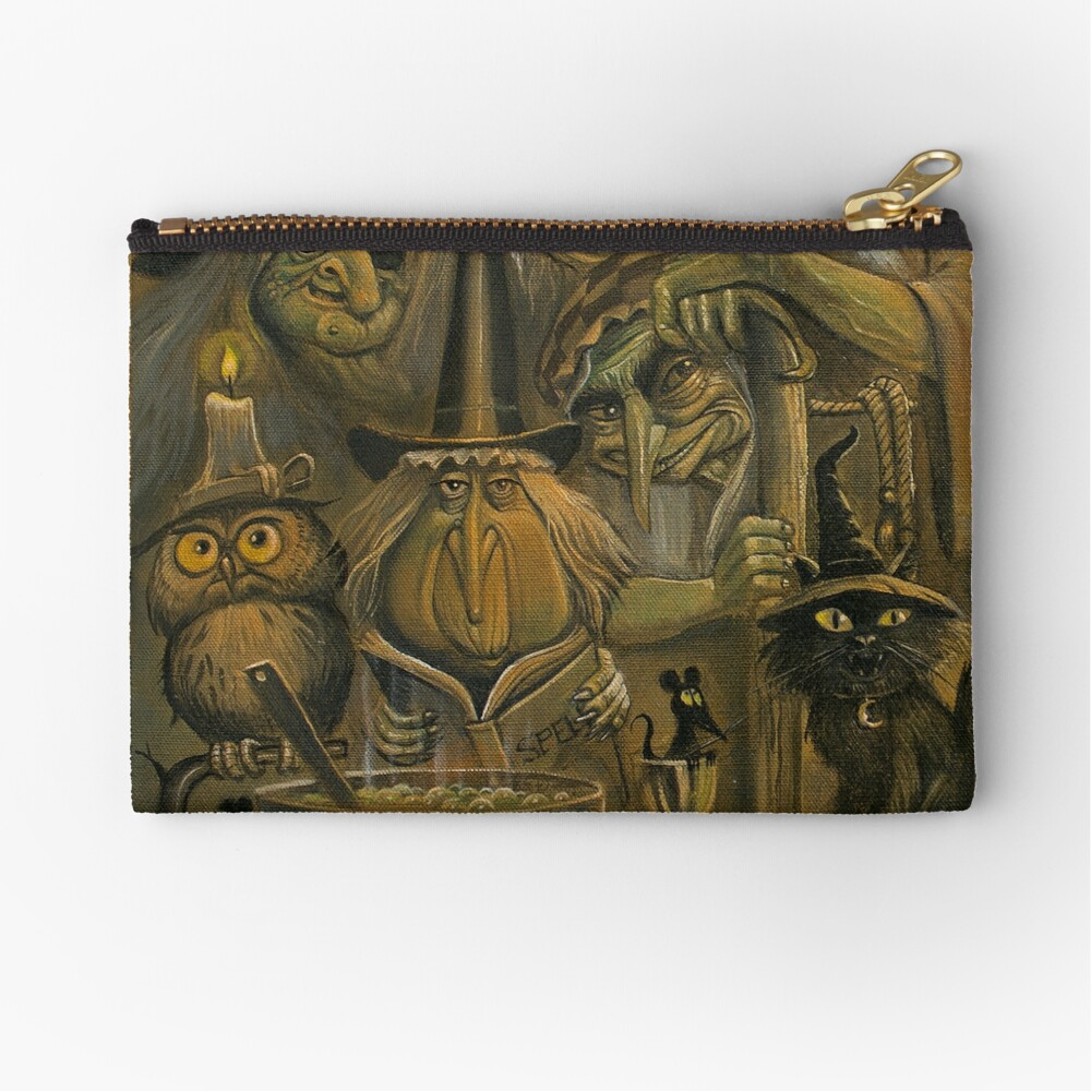 WHICH WITCH IS WHICH Zipper Pouch