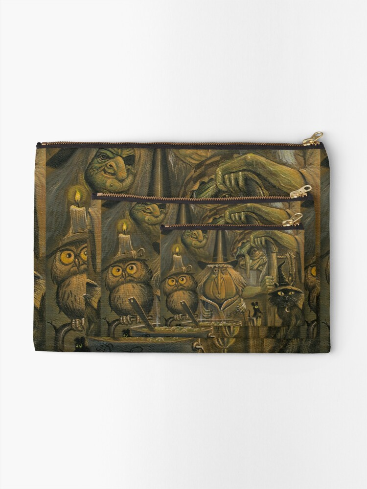 Alternate view of WHICH WITCH IS WHICH Zipper Pouch