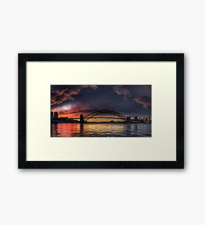 Lust - Sydney Harbour, Sydney Australia - The HDR Experience Framed Print