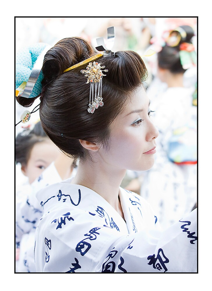 """""""Traditional Japanese Hairstyle"""" by adygarden 