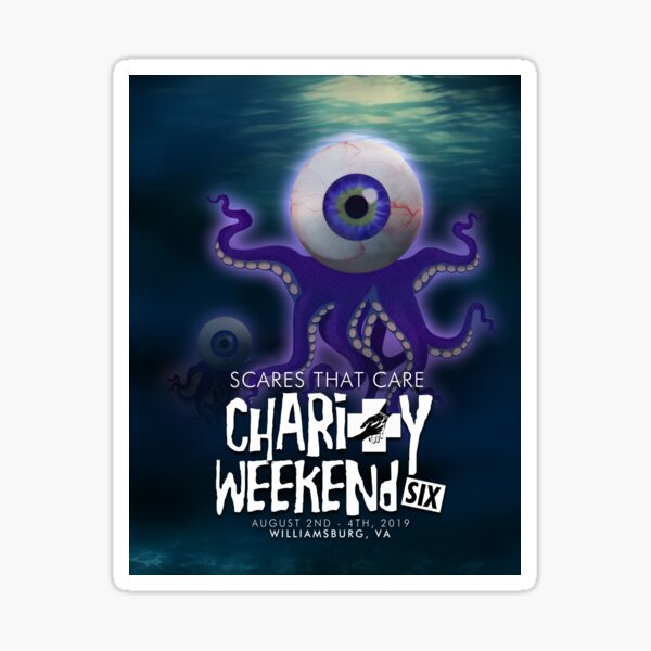 2019 Scares That Care Charity Weekend Sticker