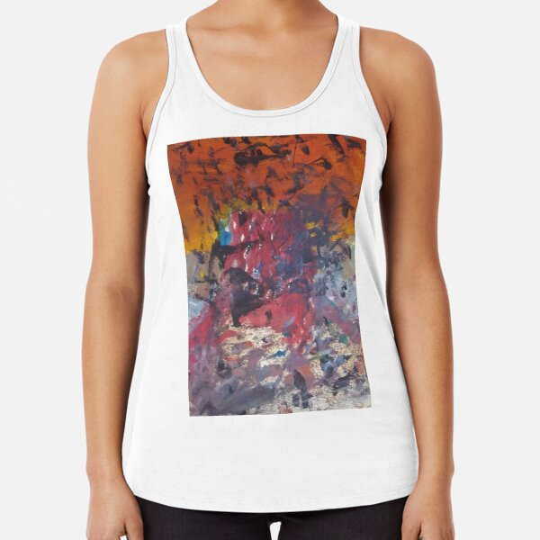 untitled (this is the real you) Racerback Tank Top