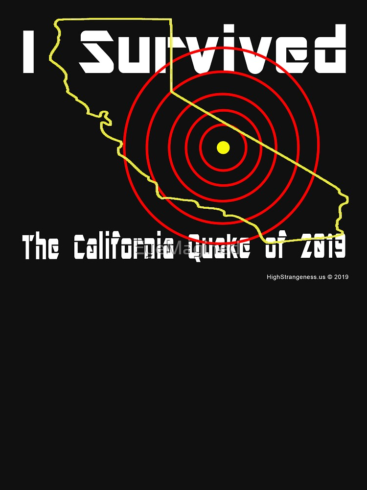 California Earthquake by EyeMagined