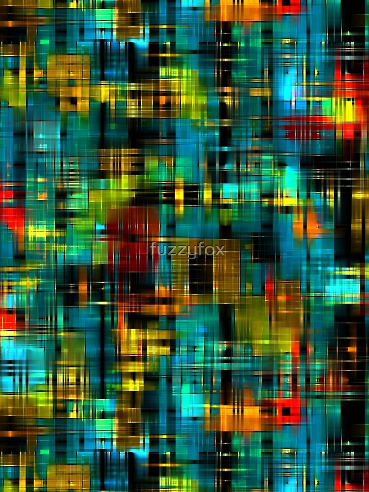 Art splash brush strokes paint abstract seamless pattern print background by fuzzyfox