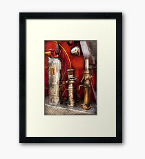 Fireman - Fighting Fires  Framed Print