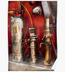 Fireman - Fighting Fires  Poster