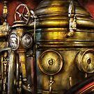 Fireman - The Steam Boiler  by Michael Savad