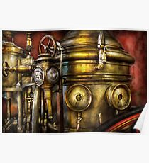 Fireman - The Steam Boiler  Poster