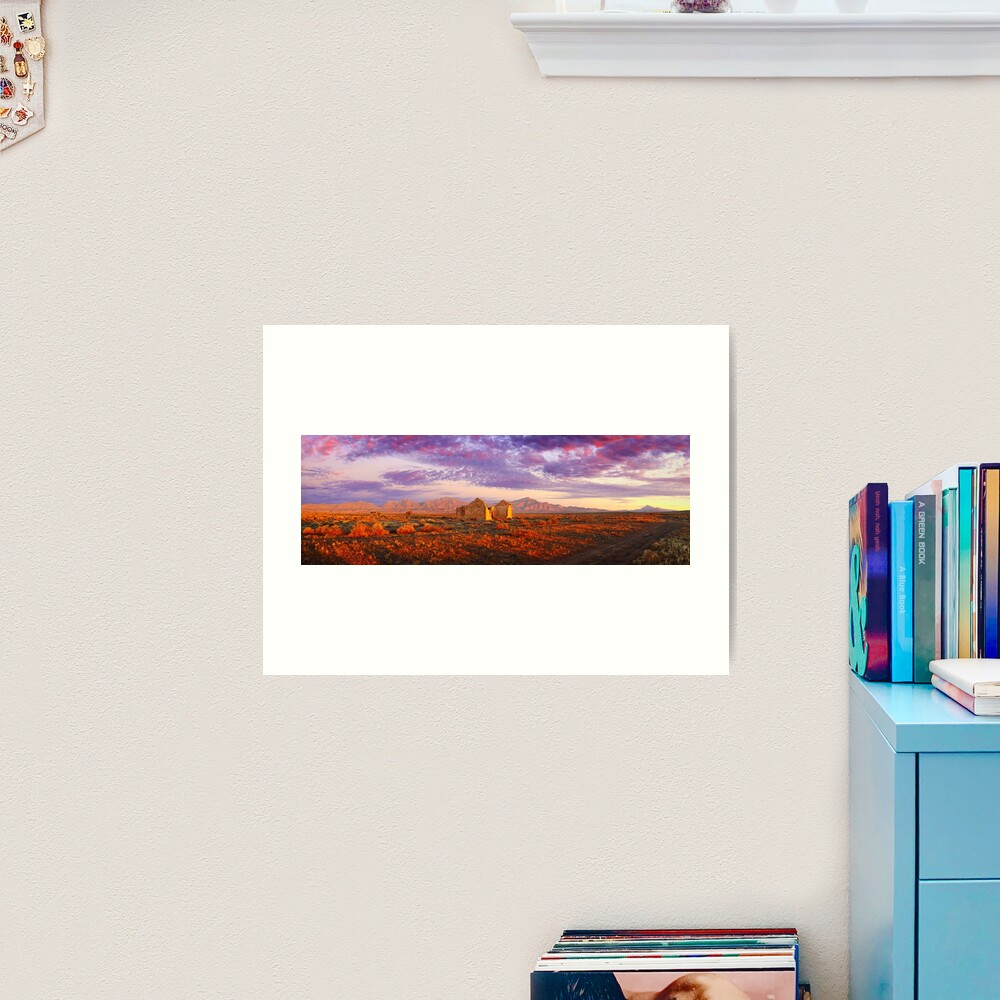 Settler's Ruin, Flinders Ranges, South Australia Art Print