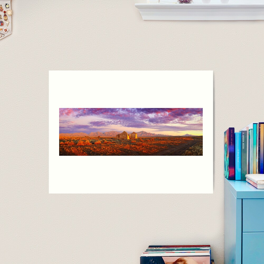 Settler's Ruin, Flinders Ranges, South Australia Art Print
