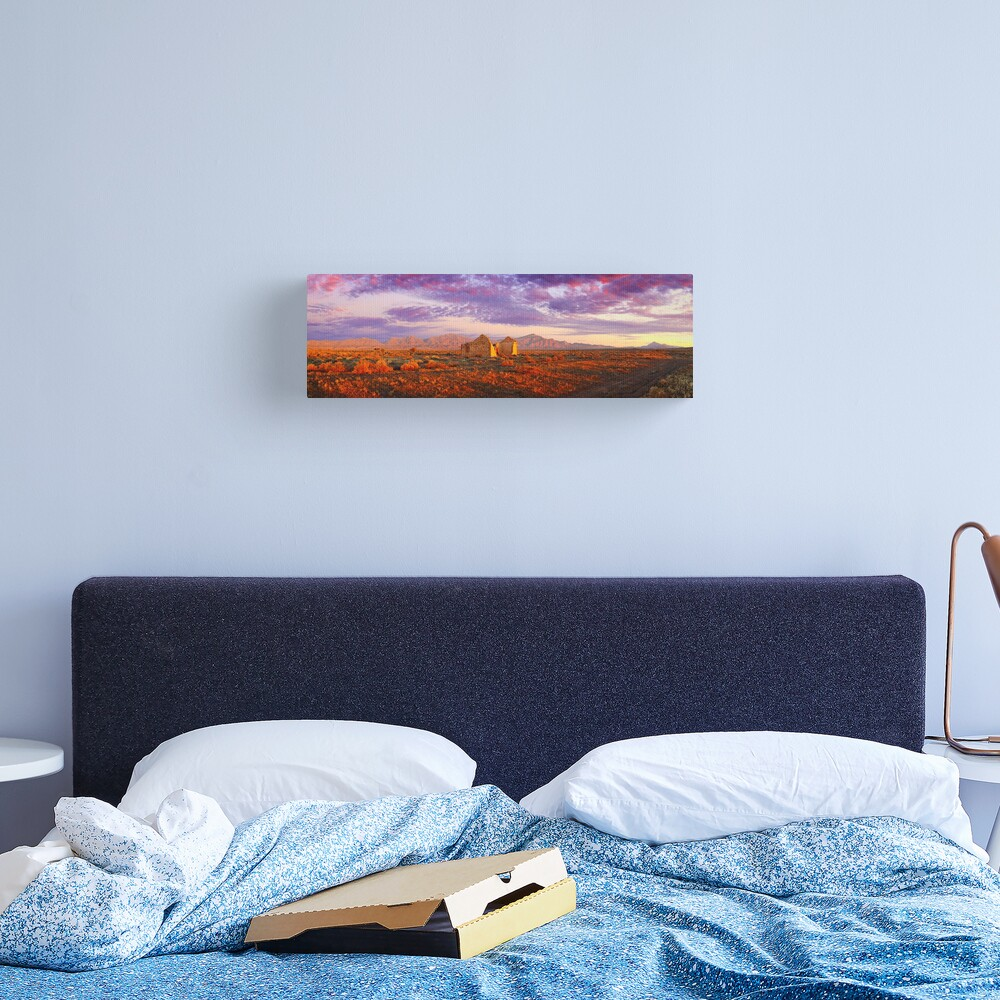 Settler's Ruin, Flinders Ranges, South Australia Canvas Print