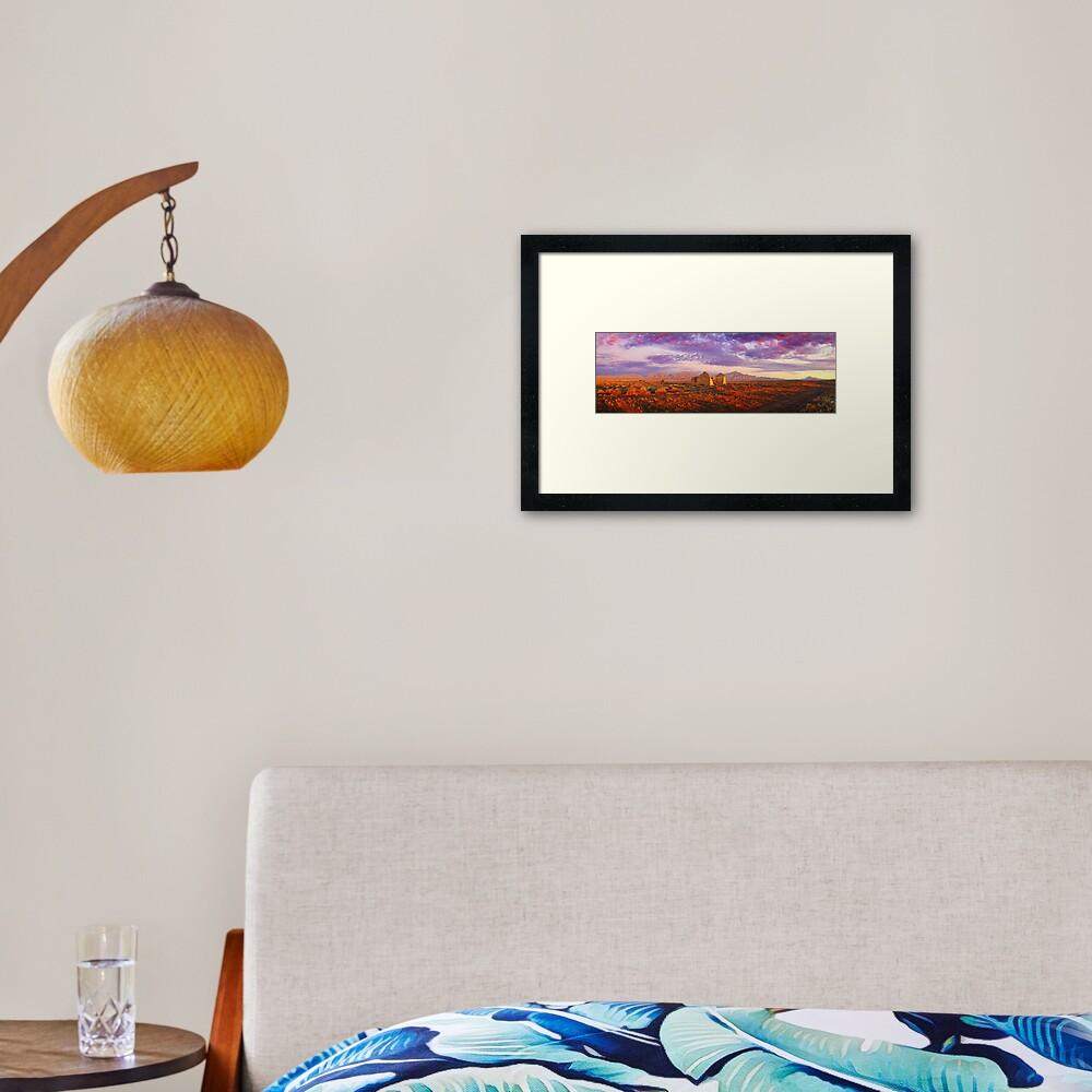Settler's Ruin, Flinders Ranges, South Australia Framed Art Print