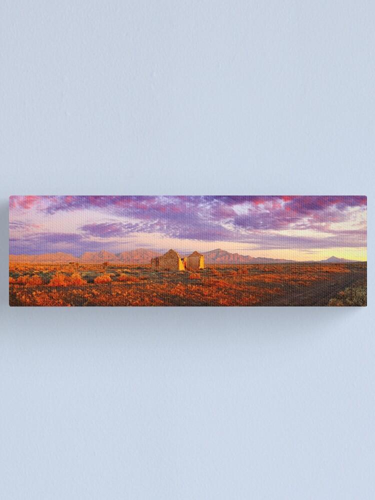 Alternate view of Settler's Ruin, Flinders Ranges, South Australia Canvas Print