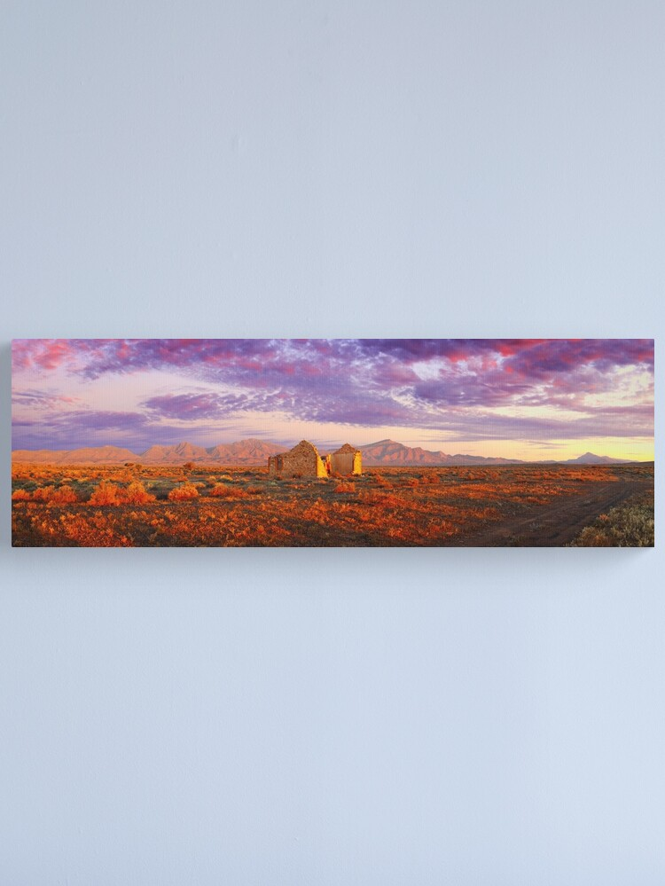Alternate view of Settler's Ruin, Flinders Ranges, South Australia Canvas Print