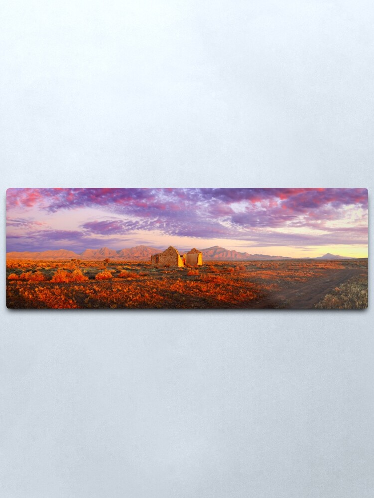 Alternate view of Settler's Ruin, Flinders Ranges, South Australia Metal Print