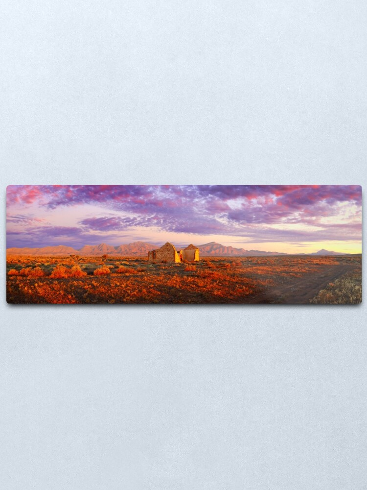 Alternate view of Settler's Ruin, Flinders Ranges, South Australia Metal Print