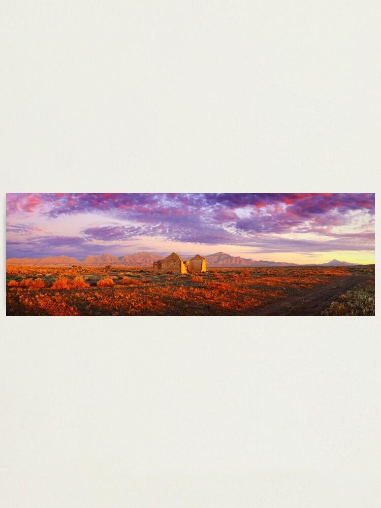 Alternate view of Settler's Ruin, Flinders Ranges, South Australia Photographic Print