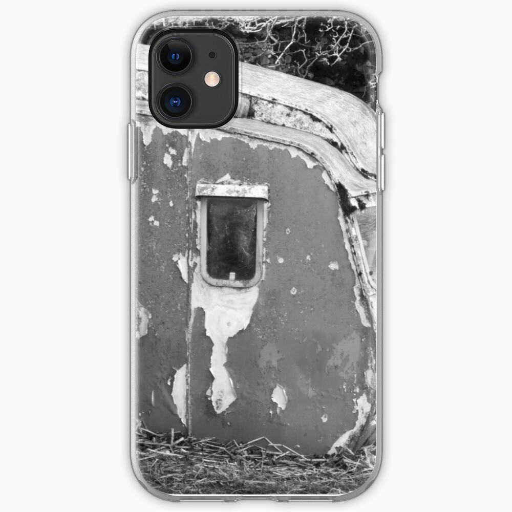 Old Caravan Rotting in a Field iPhone Case & Cover