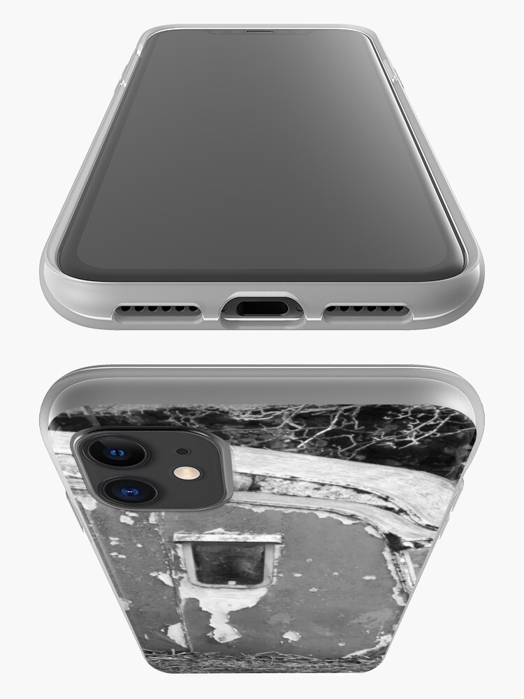 Alternate view of Old Caravan Rotting in a Field iPhone Case & Cover
