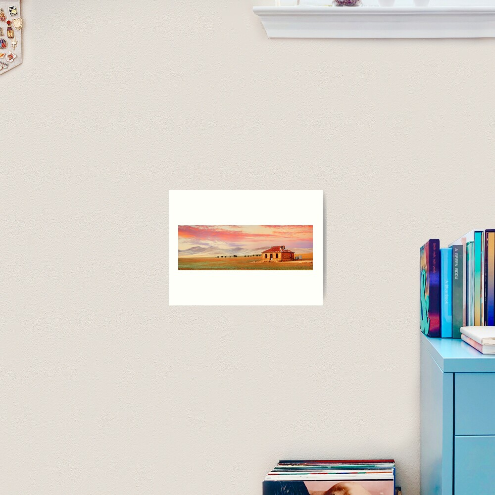 Burra Homestead, South Australia Art Print