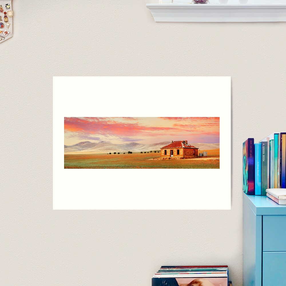 Burra Homestead, South Australia Art Print