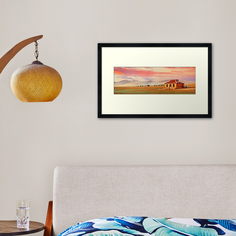 Burra Homestead, South Australia Framed Art Print