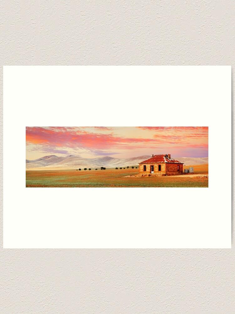 Alternate view of Burra Homestead, South Australia Art Print