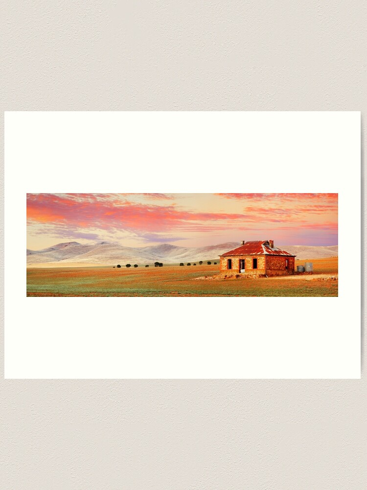 Alternate view of Burra Homestead, South Australia Art Print