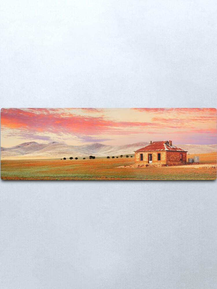 Alternate view of Burra Homestead, South Australia Metal Print