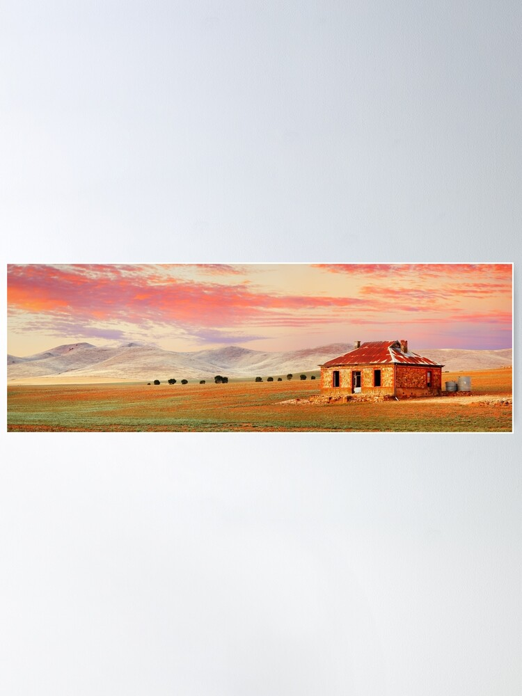 Alternate view of Burra Homestead, South Australia Poster