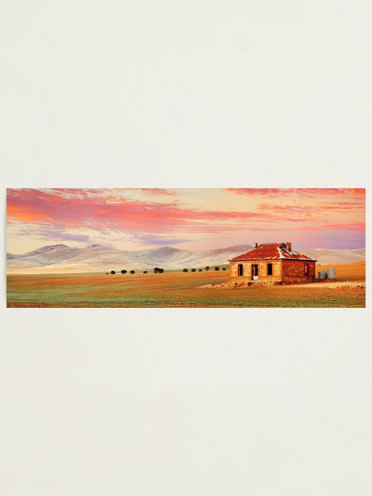 Alternate view of Burra Homestead, South Australia Photographic Print