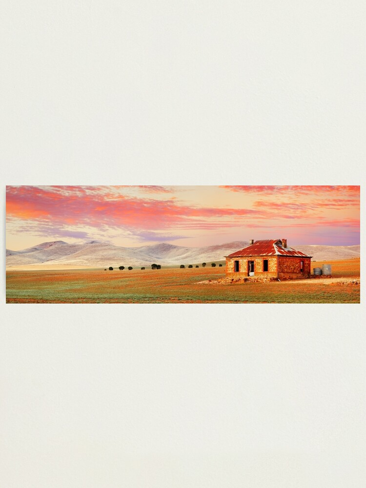 Alternate view of Burra Homestead, South Australia Photographic Print