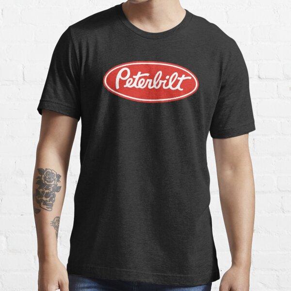 Peterbilt Truck Logo Redwhite Essential T-Shirt