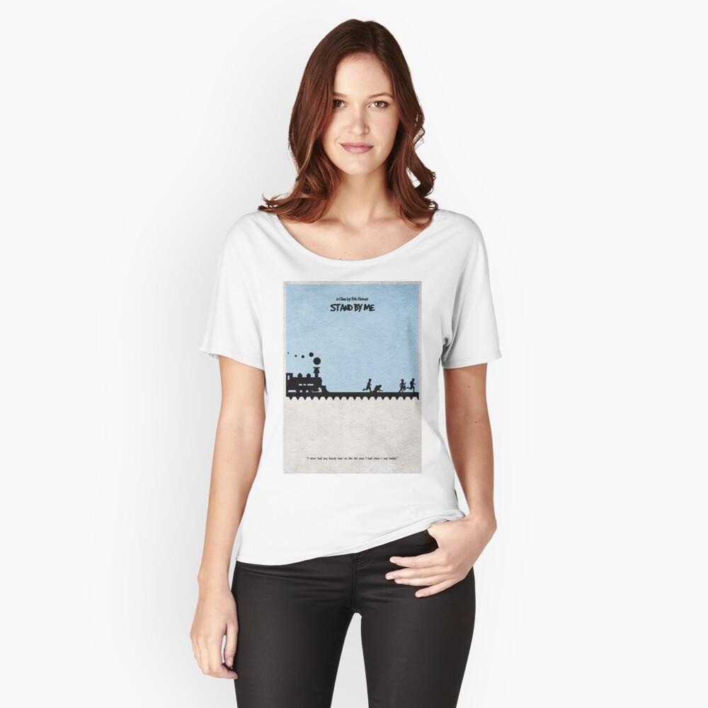 Quedate junto a mi Camiseta ancha