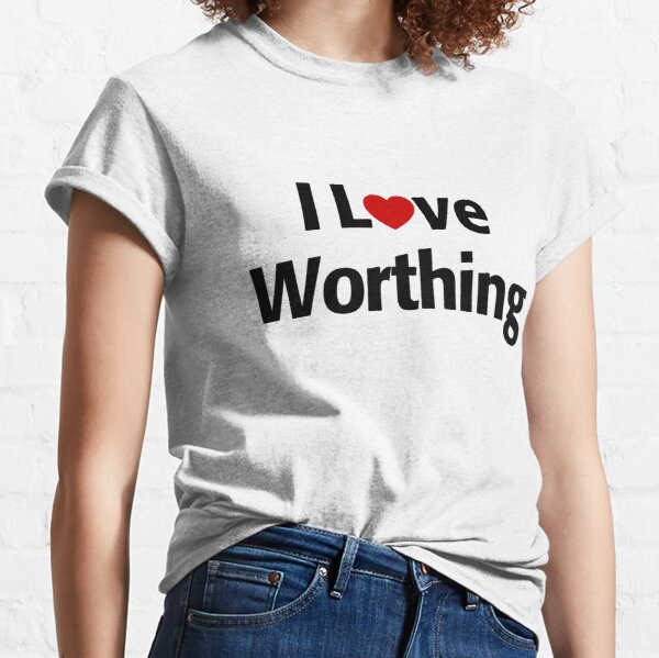 I Love Worthing Classic T-Shirt