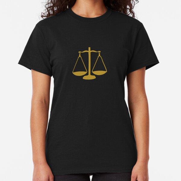 Libra - Zodiac Symbols Classic T-Shirt