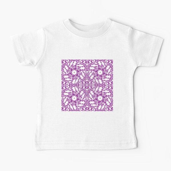 OpArt, Visual Illusion, VisualArt, OpticalArt, #OpticalIllusion, #OpticalIllusionArt, #OpticalArtIllusion, #PsyhodelicArt Baby T-Shirt