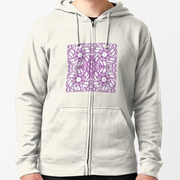 OpArt, Visual Illusion, VisualArt, OpticalArt, #OpticalIllusion, #OpticalIllusionArt, #OpticalArtIllusion, #PsyhodelicArt Zipped Hoodie