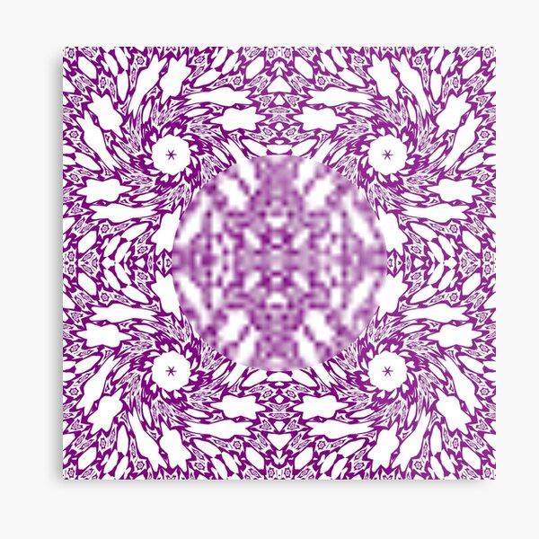 OpArt, Visual Illusion, VisualArt, OpticalArt, #OpticalIllusion, #OpticalIllusionArt, #OpticalArtIllusion, #PsyhodelicArt Metal Print