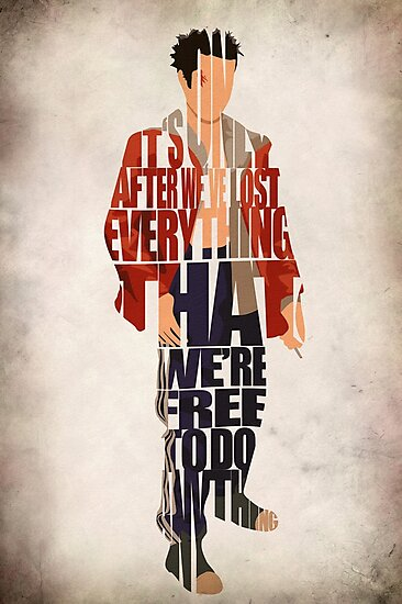 Tyler Durden by A Deniz Akerman