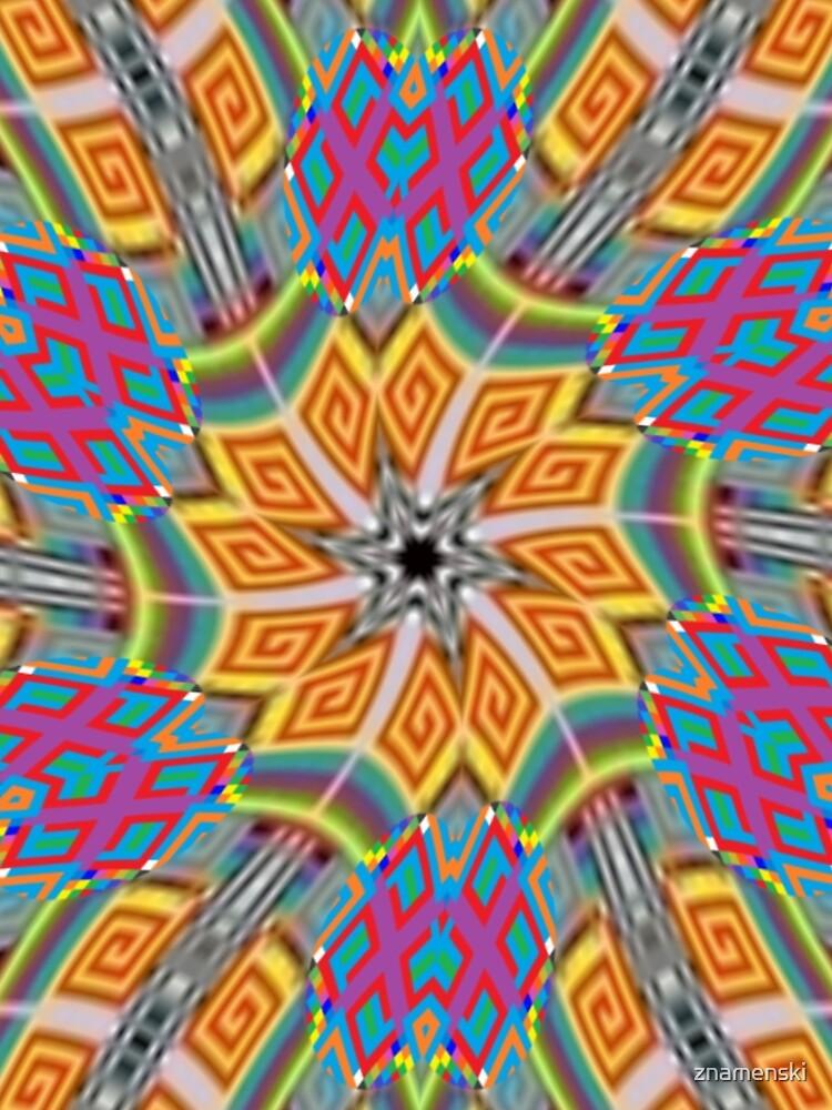 OpArt, Visual Illusion, VisualArt, OpticalArt, #OpticalIllusion, #OpticalIllusionArt, #OpticalArtIllusion, #PsyhodelicArt by znamenski