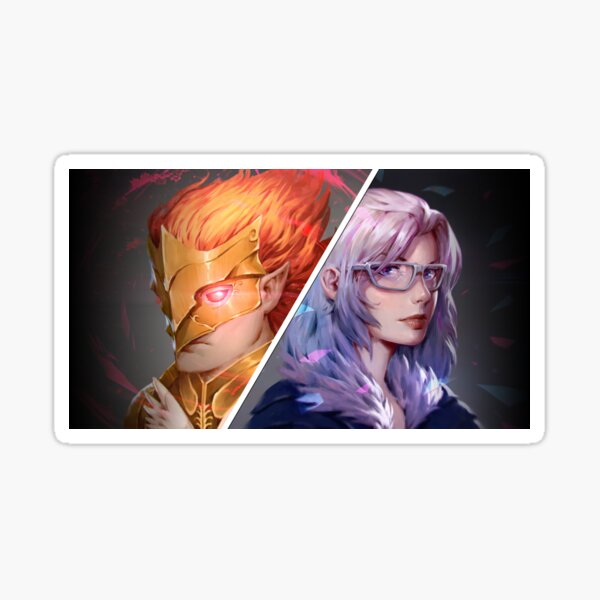 MeatPossible - Grand Inquisitor Sorato & Knight Captain Lunaya Sticker