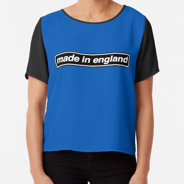 Made In England - OASIS Band Tribute Chiffon Top