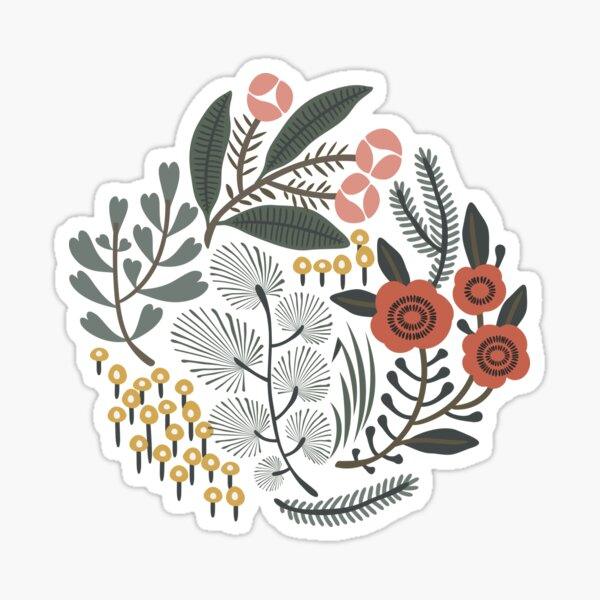 Night Garden Sticker